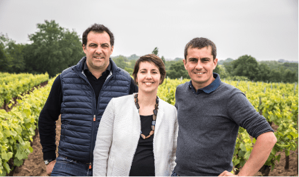 Famille Lieubeau - Winemakers - Cru Chateau Thebaud