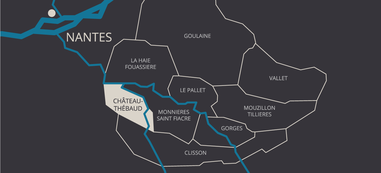 Map of the Crus - About the Cru - Cru Chateau Thebaud